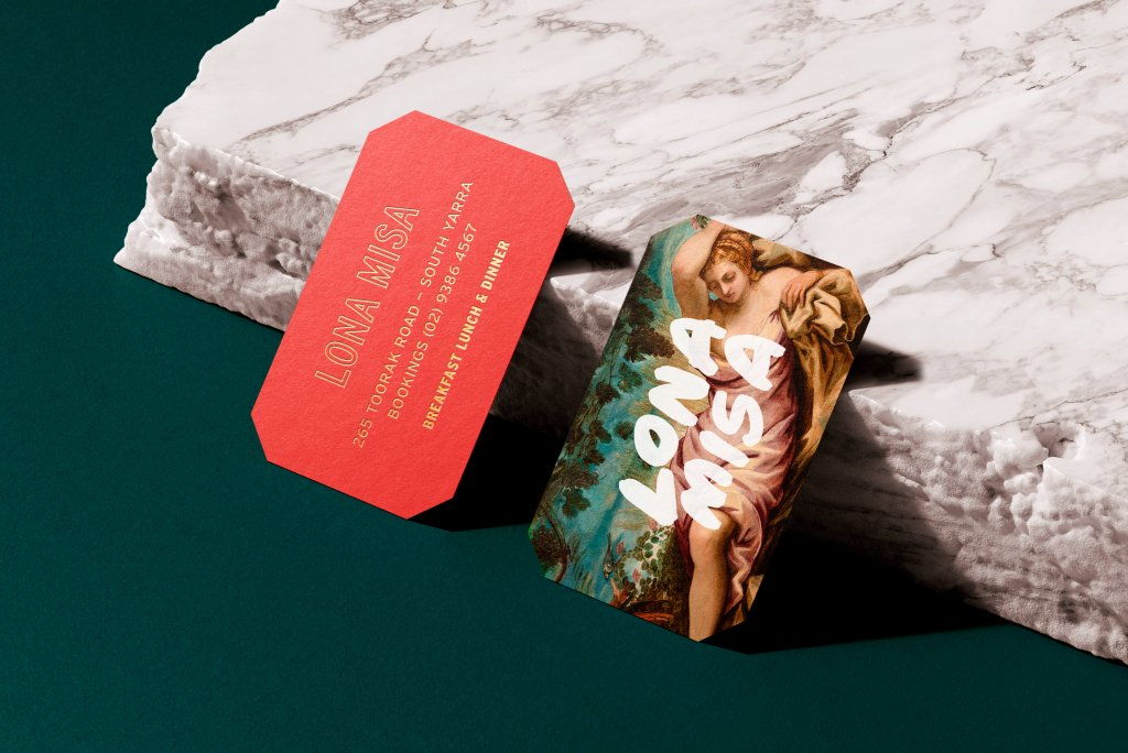 BLOG POST - Ovolo Hotels, South Yarra, Lona Misa Restaurant Business Cards